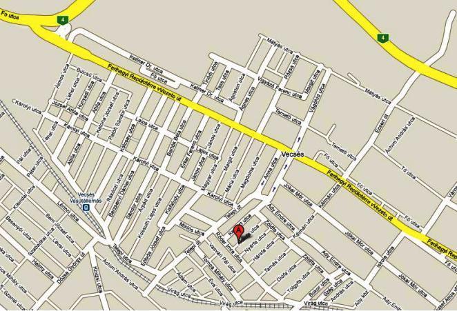 vecsés térkép Exotherm Bt. vecsés térkép
